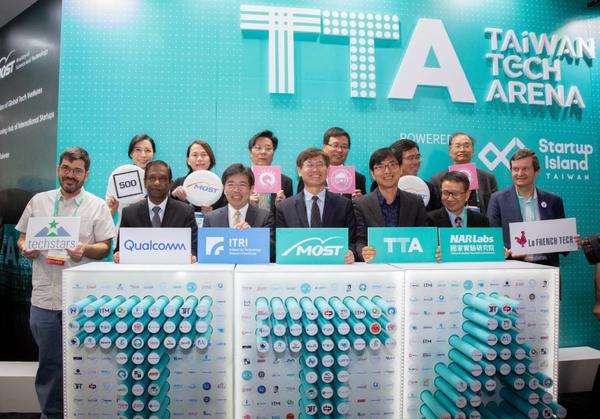 Taiwan takes 82 startups to CES