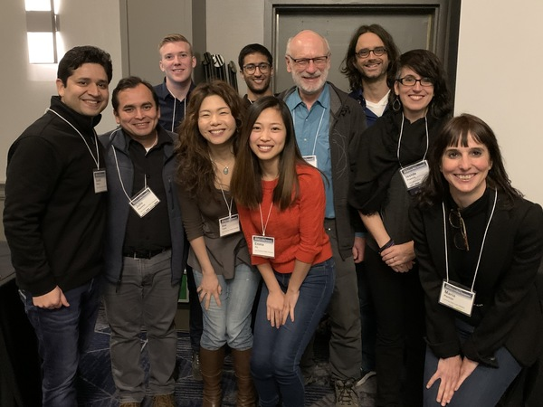 The symposium kicked off with Thursday workshops. This student-faculty team ran the Deep Learning in Biotechnology workshop. Find details at: https://www.csuperb.org/symposium/2020program/.