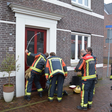 Brandweer ter plaatse voor buitensluiting