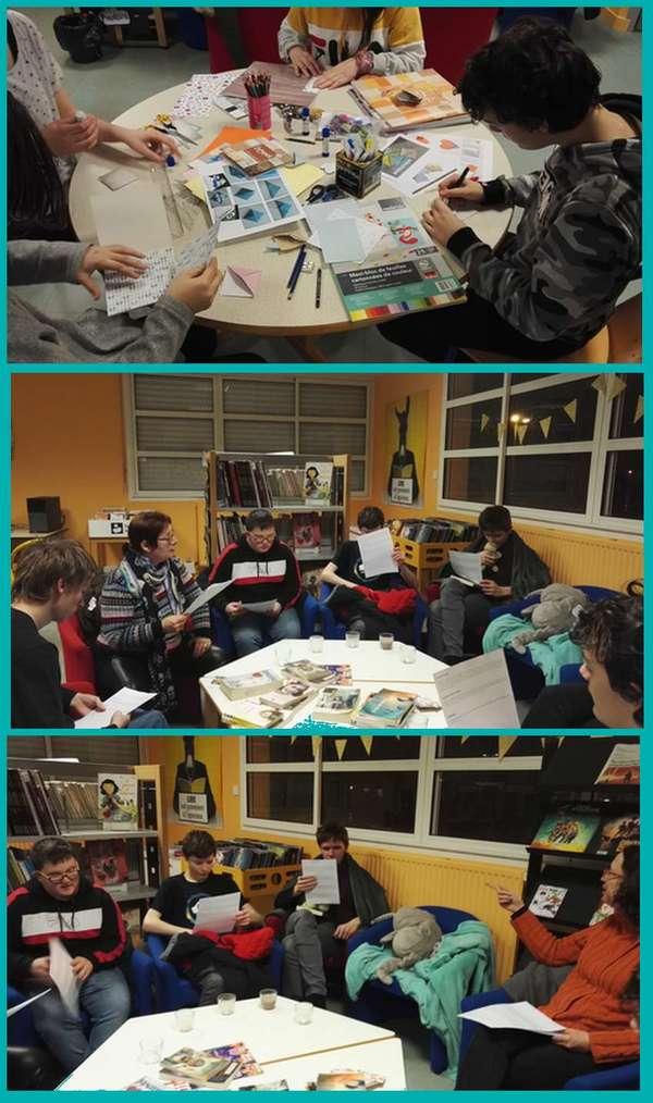 Nuit de la lecture au CDI le 16/01, un succès !