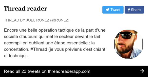 Analyse par Joël Ronez