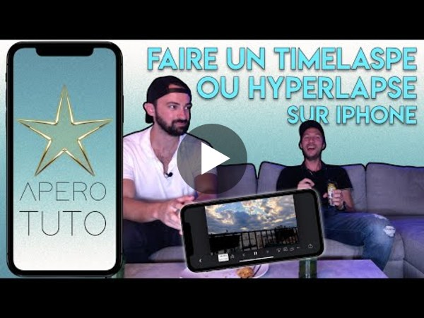 Comment faire un TIMELAPSE sur iPHONE (et HYPERLAPSE) - TUTO