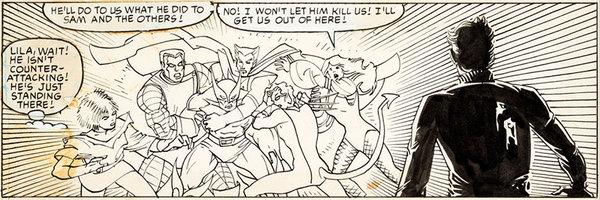Al Milgrom - Secret Wars Original Comic Art