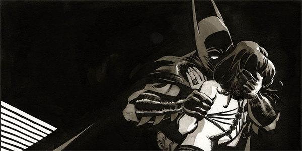 Tim Sale - Catwoman Original Comic Art