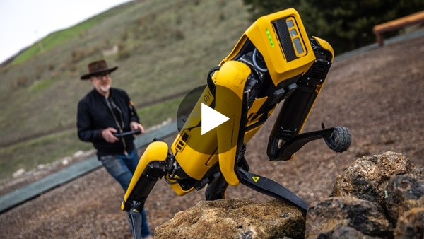 P.S. Please enjoy this video of the Spot Mini robot from Boston Dynamics being tested by Adam Savage.