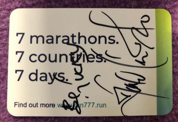 Linford Christie signs up to run777 2021...