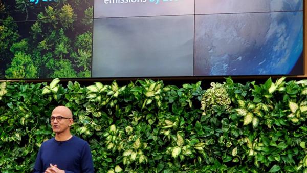 Tech Café : 🌎 Microsoft négatif en émissions carbone en 2030 ?