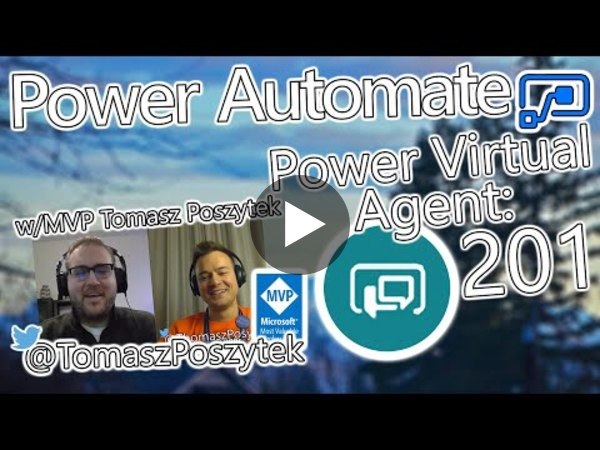 Power Automate Tutorial - Power Virtual Agents + Authentication