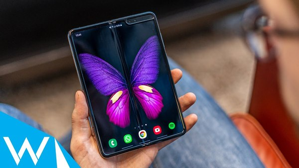 Samsung Galaxy Fold review | Vouwbare smartphones komen eraan! | WANT