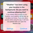 L'App tracking alert in iOS 13 ha radicalmente diminuito i dati di location per l'advertising
