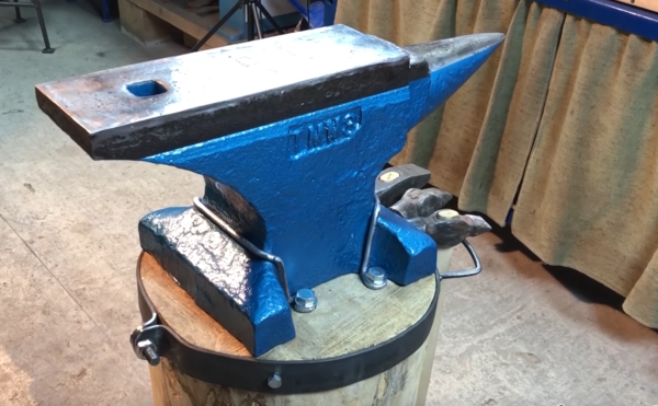My restored anvil is purdier than yours.