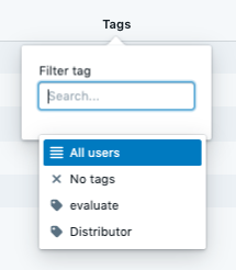 Sort and Filter by Tag