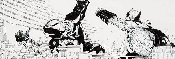 Greg Capullo - Batman Original Comic Art