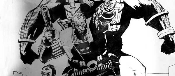 Mike Mignola - X-Force Original Comic Art