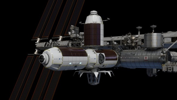 NASA selects Axiom Space to build commercial space station module