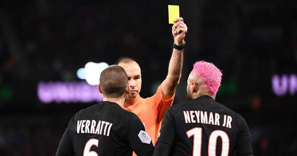 Nietypowy powód żółtej kartki dla Neymara