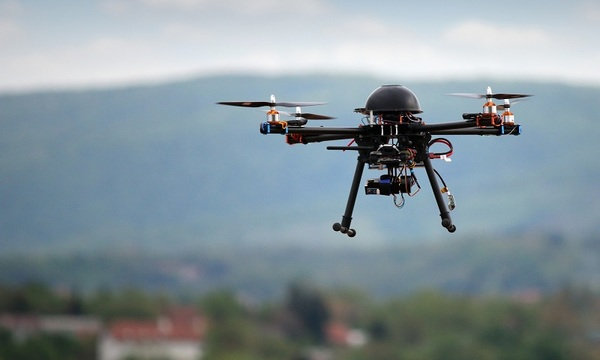 With virus outbreak, China showcases micro drone surveillance