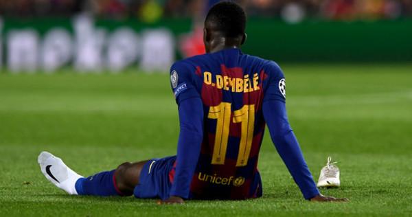 Koniec sezonu dla Ousmane Dembele? Francuz zerwał mięsień dwugłowy