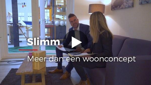 ROELOFARENDSVEEN - Heembouw heeft begin december bijeenkomsten georganiseerd om hun Slimm concept te presenteren aan relaties. (video)