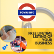 Free Lifetime Listings for your Business on Powai.info