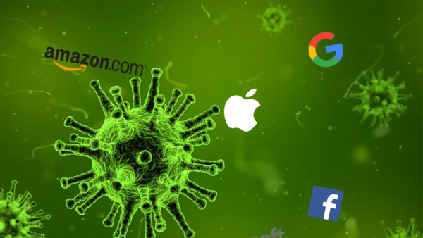 Panique Coronavirus 🤒😱 ! Résultats Google, Microsoft, Apple, Amazon & Facebook