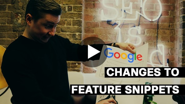 Changes to Feature Snippets | Youtube