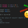 46% Of People Think This Swift Code Has Error, Apparently, It Doesn't!