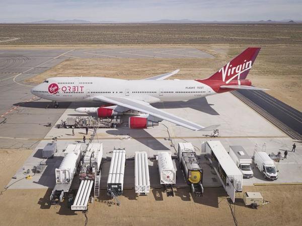 Virgin Orbit rocket launch imminent