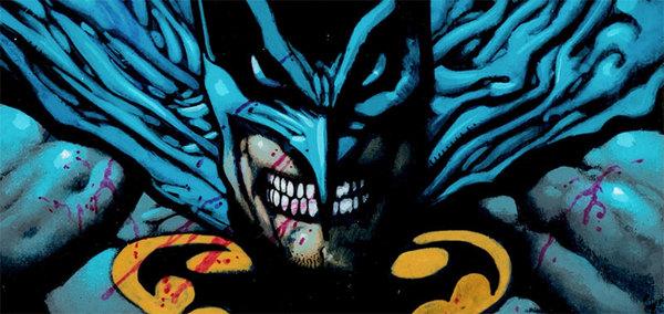 Simon Bisley - Batman Original Comic Art