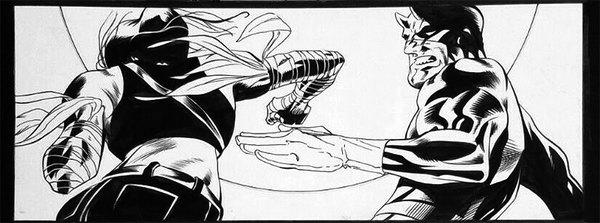 Joe Quesada - Daredevil Original Comic Art