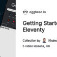Collection - Getting Started with Eleventy on @eggheadio