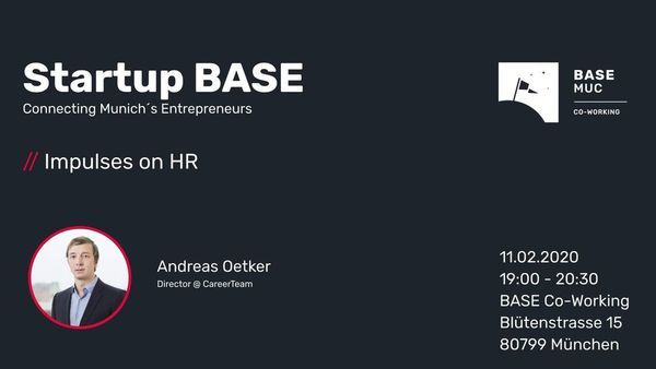 // Impulses on HR by Andreas Oetker | Startup BASE