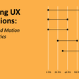Executing UX Animations: Duration and Motion Characteristics