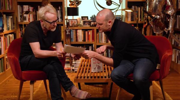 Mathematician Matt Parker on Adam Savage's Book Club.