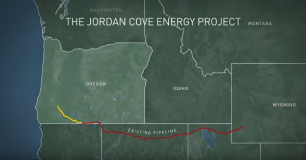 Natural gas pipeline proposal fractures Oregon community