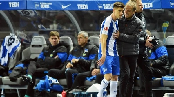 Juergen Klinsmann zrezygnował z prowadzenia Herthy