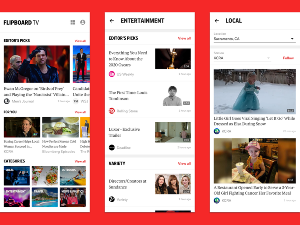 Flipboard launches new paid video service on Samsung Galaxy S20