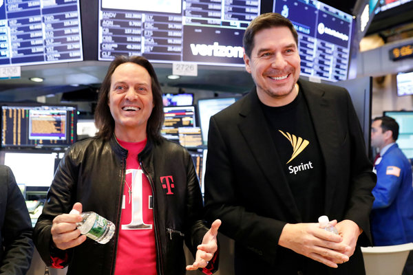 Sprint soars after judge approves its merger with T-Mobile