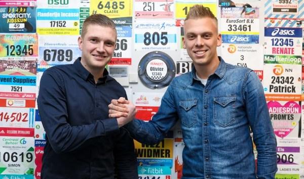 Collega's Tom den Besten en Jan-Willem Renes tegenover elkaar in derby: 'We strijden tegen degradatie, dat maakt het extra spannend'
