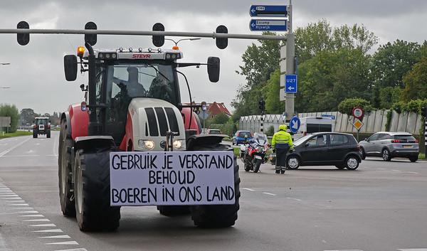 Boeren onderweg naar Den Haag. Foto: Kees Torn (CC BY-SA 2.0)