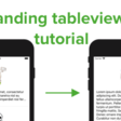 How To Expand And Contract Height Of A UITableView Cell When Tapped