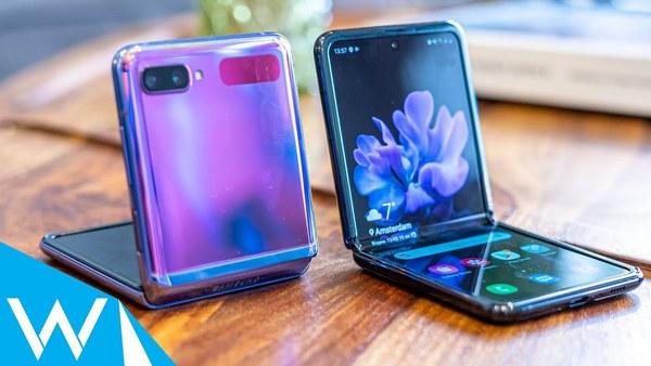 Samsung Galaxy Z Flip preview | Vouwsmartphone met extra's | WANT