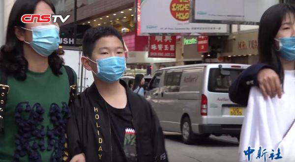 Mondkapjes tegen het coronavirus in Hongkong (China News Service, Wikimedia Commons, CC BY 3.0)