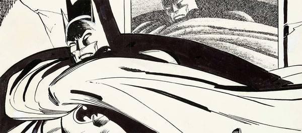 Dick Giordano - Batman Original Cover Art
