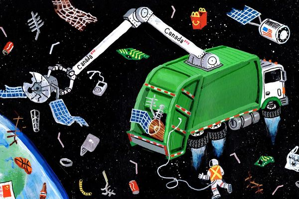 Opinion: Satellites and space debris are polluting our orbit. More than the stars are at stake