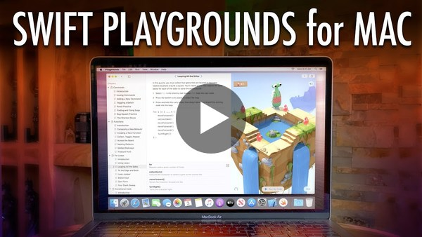 Swift Playgrounds for Mac is Here!