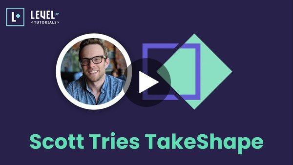 Scott Tries TakeShape - A Better CMS