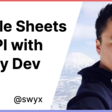 swyx Writing | Google Sheets v4 API with Netlify Dev