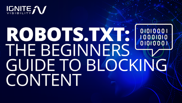The Newbies Guide to Blocking Content with Robots.txt - Ignite Visibility