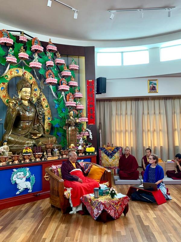 Kyabjé Khen Rinpoche in Malaysia
